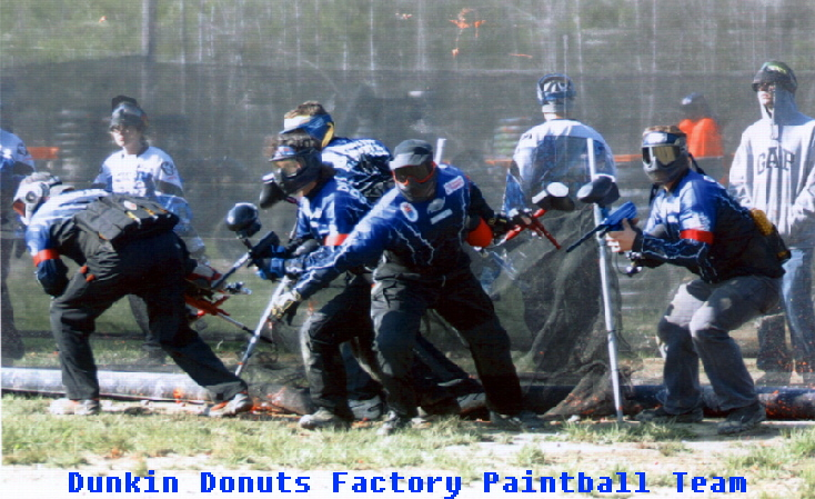 Dunkin Donuts Factory Paintball Team